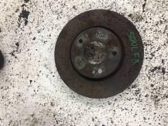 Тормозной диск KIA SOUL, правый передний