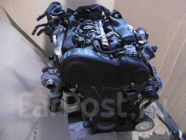 Двигатель Audi Seat 2.0D CGL с навесным