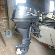Yamaha. 25,00л.с., 4-тактный, бензиновый, нога L (508 мм), 2006 год