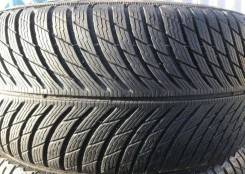 Michelin Pilot Alpin 5. зимние, без шипов, б/у, износ 20%