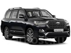 Фары Executive Black & White Toyota Land Cruiser 200 2016г+