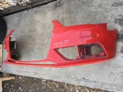 Бампер передний AUDI A4 [B8] 12- 8K0807437AC красно-алый