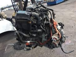 Двигатель контрактный c КПП Toyota Prius NHP10 1NZ-FXE