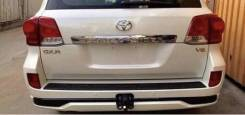 Обвес заднего бампера Toyota Land Cruiser 200 под фаркоп