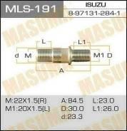 Шпилька колесная M:22x1.5(R), M1:20x1.5(L) Masuma MLS191