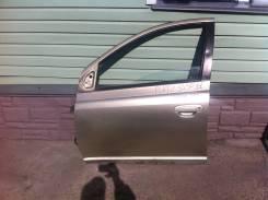 Дверь Toyota Platz scp11 левая передняя