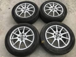 185/60 R15 Dunlop EC203 литые диски 4х100 (L31-1508)