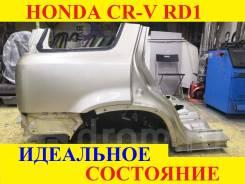 Задние крылья в сборе (Цвет золотой YR521M) Honda CR-V RD б/п по РФ