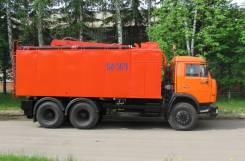 Коммаш КО-564. Комбинированная каналопромывочная машина КО-564 на шасси Камаз 65115, 6 700куб. см. Под заказ
