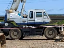 Kato KR-25H. Кран на пневмоходу КАТО KR-25H 257-0219 (г/п 25 тн)