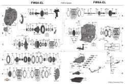 АКПП Mazda 6 FZ FW6AEL в разборе Автомат Мазда cx5