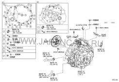 АКПП (CVT) на lexus CT200H ZWA10 2ZR-FXE гибрид 41