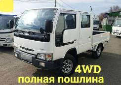Nissan Atlas. 4WD, двухкабинник+ борт, 3 200куб. см., 1 500кг., 4x4