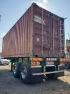 TS-1550, 1987. Продам контейнеровозный прицеп 20-ку. Японка, 39 000кг.