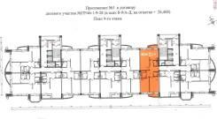 3-комнатная, улица Грибоедова 46. Толстого (Буссе), частное лицо, 89,0кв.м. План квартиры