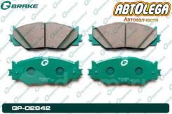 Колодки перед. G-brake Lexus S250/330 GSE20 05- AVE30 / GSE30 (13-) GP-02842