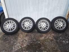 Комплект колес Weds Velva R15 4x100 на резине Bridgestone Ecopia PZ-X