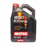 Motul 8100 Eco-Nergy. 5W-30, синтетическое, 4,00л.
