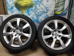 Продам Стильные Под Чёр. Хром колёса Nissan Skyline+Лето 225/45R17