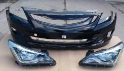 Бампер передний Hyundai Solaris рестайлинг новый