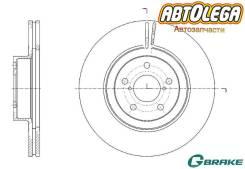 Диск тормозной п. G-brake Subaru Forester SF/SG/SH/SJ Impreza GF-GG