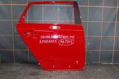 Дверь задняя правая (универсал) для Skoda Fabia 2