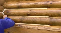 Обучение герметизации деревянного дома