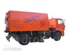 Кургандормаш КО-318Д. КО-318Д на шасси Камаз-53605 вакуумная подметально-уборочная (пылесо, 11 762куб. см.