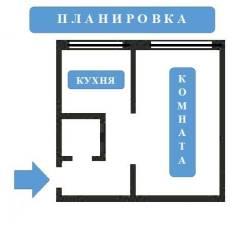 1-комнатная, улица Нелидовская 15 кор. 1. Южное Тушино, агентство, 30,1кв.м.