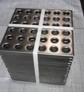 Стальная плитка из перфорированного металла для упрочнения и защиты