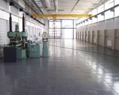Изготовление плитки для пола металлической