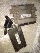 Блок управления ДВС комплект Renault Logan 1 2004-2014 [8200856659]