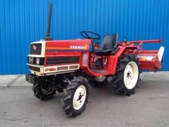Yanmar F16D. Мини-трактор +фреза, 16 л.с.
