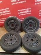 """Комплект колес R15/5x110 с резиной Yokohama Bluearth. 6.0x15"""" 5x110.00 ЦО 65,0мм."""