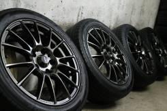 """Только из Японии! Заряженный спорт=WEDS Sport SA-72R=+летние шины бонус. 7.0x17"""" 5x114.30 ET48 ЦО 73,0мм."""