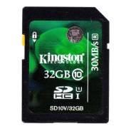 Карта памяти Micro-SDHC Kingston 32 Gb Class10