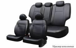Чехлы экокожа Nissan Terrano / Duster 2015-> экокожа черный