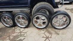 Комплект колес Хром Work LS 4/100R18 215/40R18