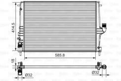 Радиатор двигателя Valeo 735635