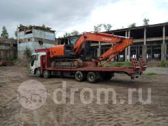 Услуги грузового эвакуатора - трал, кран 10т, в Комсомольске-на-Амуре