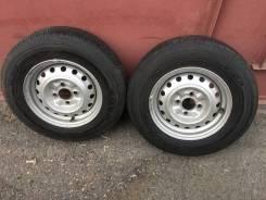 Комплект летних колес на дисках. TOYO V-02 165R13 LT 6 P. R.