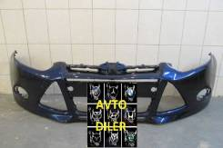 Бампер передний Ford Focus 3 1719353 1719356 INK BLUE 3CYC