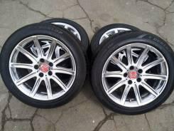 00285 Хромированные Flagrado BMW 5,7 серии на шинах R18 255/45 Dunlop