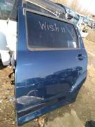 Дверь задняя левая-2004г Toyota Wish ANE11 1AZFE