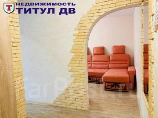 1-комнатная, улица Толстого 48. Толстого (Буссе), проверенное агентство, 33,8кв.м. Интерьер