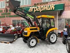 Jinma JM-244. Мини-трактор Jinma Уралец 244 4х4 ПСМ ГУР кабина в Омске, 24,00л.с.