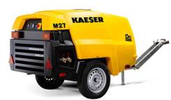 Kaiser. Мобильный строительный компрессор M27.