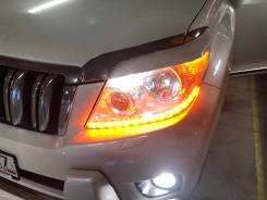 Фары комплект Toyota Land Cruiser Prado 150 дорестайл 2009-2013 год