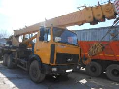Машека КС-55727. Автокран КС-55727-1 (Машека) на шасси МАЗ-6303А3, 11 150куб. см., 28,00м.