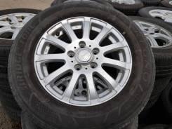 "Летние колёса Bridgestone Regno 205/65R15. 6.0x15"" 5x114.30 ET53 ЦО 73,1мм."